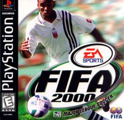 FIFA 2000 front cover