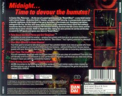 Countdown Vampires back cover