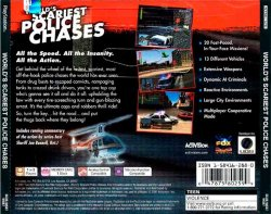 World's Scariest Police Chases back cover