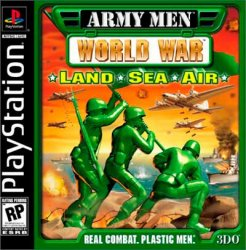 Army Men: World War Land, Sea, Air front cover