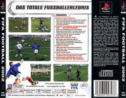 FIFA Soccer 2002 back cover