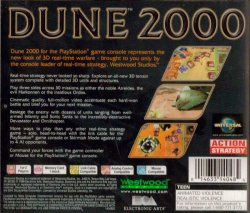 Dune 2000 back cover