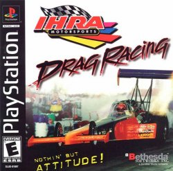 IHRA Drag Racing front cover