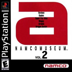 Namco Museum Vol. 2 front cover