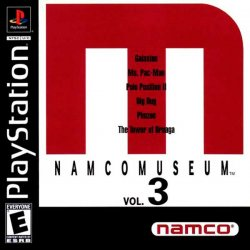Namco Museum Vol. 3 front cover